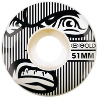 GOLD 51MM GOONS WHEELS 51MM