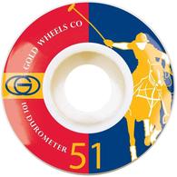 GOLD KARAT CLUB WHEELS 51MM