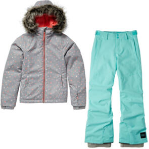 ONEILL SNOW YOUTH CURVE JACKET + CHARM REGULAR PANTS COMBO