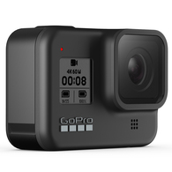 GOPRO HERO 8 BLACK ACTION CAMERA WITH 32GB SD CARD