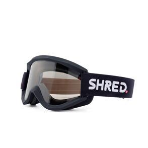SHRED GOGGLES SHRED SOAZA MTB BIGSHOW BLACK - CLEAR