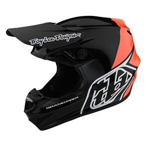 TROY LEE DESIGNS 2021 GP HELMET BLOCK BLACK / ORANGE