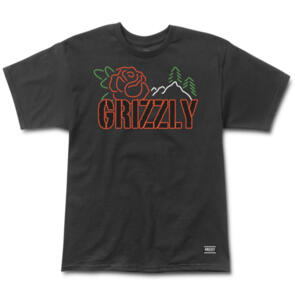 GRIZZLY ROSEBUD SS TEE BLACK