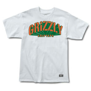 GRIZZLY UNIVERSIDAD SS TEE WHITE