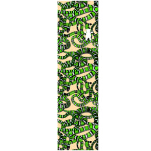 GRIZZLY SNAKE EYES GRIPTAPE GREEN