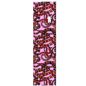 GRIZZLY SNAKE EYES GRIPTAPE PINK RED