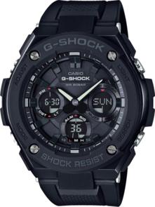 G-SHOCK G-STEEL ANALOGUE/DIGITAL BLACK SOLAR MENS WATCH GSTS100G-1B