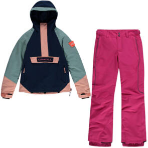 ONEILL SNOW 2021 YOUTH GIRLS ANORAK JACKET + CHARM PANTS