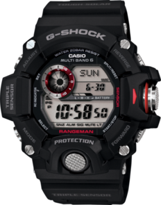 CASIO G-SHOCK RANGEMAN DIGITAL MENS BLACK RANGEMAN WATCH GW-9400-1D