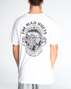 THE MAD HUEYS DRINK QUICK TEE WHITE