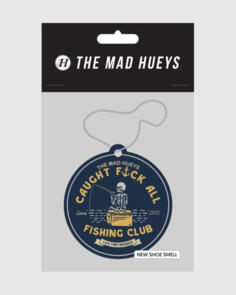 THE MAD HUEYS HUEYS AIR FRESHENERS 3 PACK MULTI