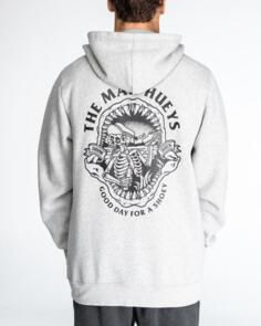 THE MAD HUEYS DRINK QUICK PULLOVER GREY MARLE
