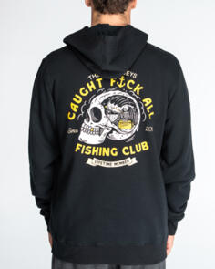 THE MAD HUEYS FK ALL CLUB PULLOVER BLACK