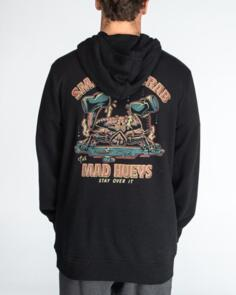 THE MAD HUEYS SMASHED CRAB PULLOVER BLACK