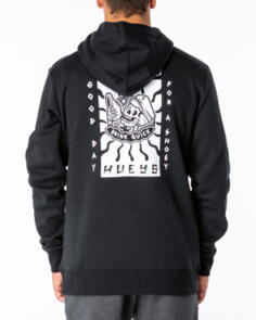 THE MAD HUEYS GOOD DAY FOR IT PULLOVER HOOD BLACK