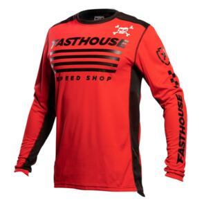 FASTHOUSE GRINDHOUSE HALT JERSEY RED/BLACK