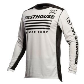 FASTHOUSE GRINDHOUSE HALT JERSEY WHITE/BLACK
