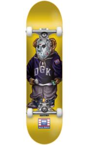 """DGK 7.5"""""""" THE PLUG COMPLETE YELLOW"""