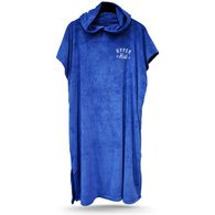 HYPER RIDE HOODED TOWEL BLUE - 350 GSM