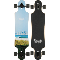 """HECTIC BOARD CO DROP THROUGH NZ SURF SERIES MIDWAY LT BLUE 40"""""""