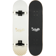 HECTIC BOARD CO SK8 COMPLETE WHITE 8""