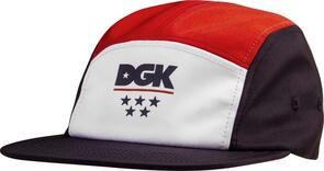 DGK LIBERTY 5-PANEL CAP MULTI