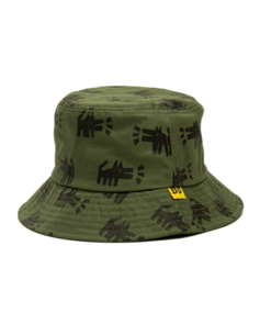 BAND OF BOYS HEY DOGG REPEAT BUCKET HAT GREEN
