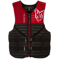 HO 2018 NEO PURSUIT WAKE VEST BLACK RED