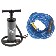 HO 4K TUBE ROPE AND HAND PUMP
