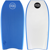 "HOT BUTTERED 44"" EPIC BLUE WHITE PE DUAL STRINGER BB"