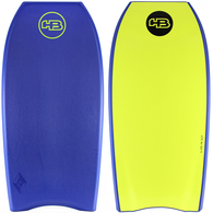 "HOT BUTTERED 44"" EPIC NAVY YELLOW DUAL STRINGER BB"