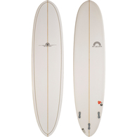 HOT BUTTERED FUNBOARD 7'10 NAVY GOLD PINLINE EPOXY