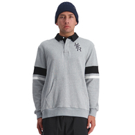 HUFFER FIELD LS POLO GREY MARLE
