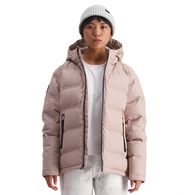 HUFFER WOMENS SUPERDOWN JACKET DUSKY PINK