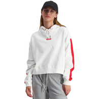 HUFFER WOMENS VANCITY SUNDAY HOOD WHITE/RED