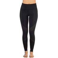 HURLEY 2019 WOMENS QUICK DRY MESH SURF LEGGING PANT BLACK