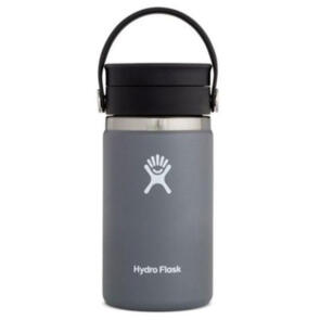 HYDRO FLASK WIDE MOUTH INSULATED COFFEE FLASK, 354ML STONE