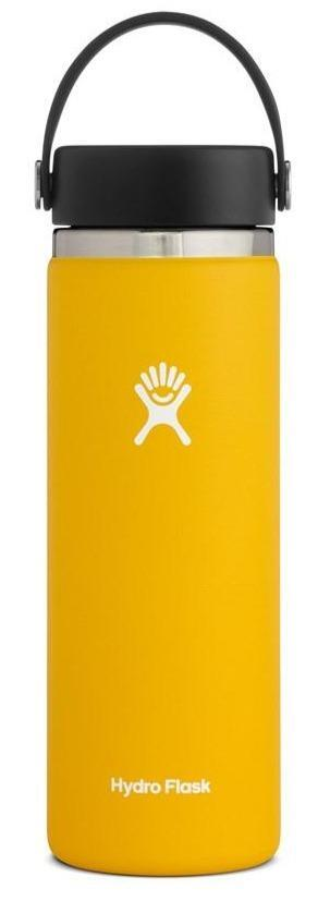 HYDRO FLASK WIDE MOUTH INSULATED DRINK BOTTLE, 591ML SUNFLOWER