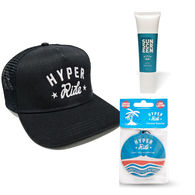 HYPER RIDE CAP X SUNSCREEN X AIR FRESHENERS COMBO!