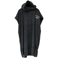 HYPER RIDE HOODED TOWEL - BLACK - 350 GSM