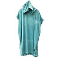 HYPER RIDE WOMENS HOODED TOWEL - SEA FOAM