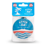 HYPER RIDE AIR FRESHENER COCONUT 10 PACK!