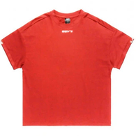 ILABB WOMENS DECIDE TEE RED