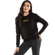 ILABB WOMENS PRESENT CREW BLACK WHITE