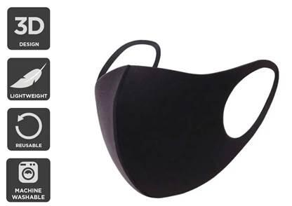 URBAN 10 PACK REUSABLE WASHABLE LIGHTWEIGHT FACE MASK