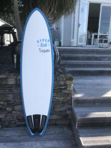 """HECTIC BOARD CO SEAGULL 6'10"""" MID LENGTH EPS BLUE FUTURES"""