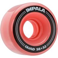 IMPALA SIDEWALK SKATES 4 PACK WHEELS PINK 58MM
