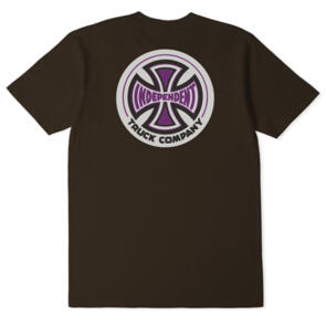 INDEPENDENT 78 T/C TEE MOCCA