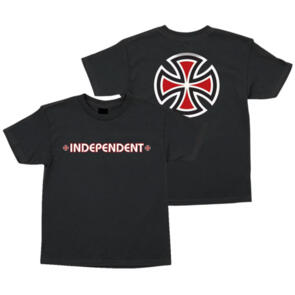 INDEPENDENT BAR/CROSS YOUTH TEE BLACK