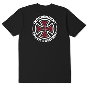 INDEPENDENT REPEAT CROSS YOUTH TEE BLACK